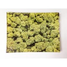 Glass Tray with buds