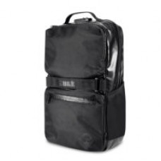 Skunk Soho Black leather Back pack