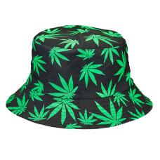 Hemp leaf hat