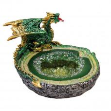 Dragon Geode Ashtray