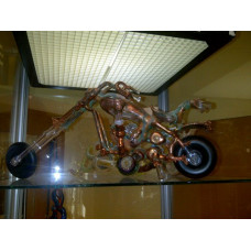 Water Pipe by Hops.  Fully Functional Motorcycle