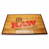 Raw Bamboo Mat large and small