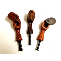 Wooden Hand Pipe By The Mill