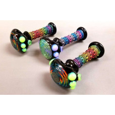 Hemp Wrapped Hand Pipes by Multiverse.