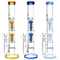 water pipe with double tree perc by Pulsar