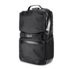 Skunk Soho Black leather Back pack