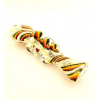 Rasta Color Chillum.