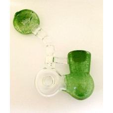 Health Stone Mini Double Donut Sherlock in Green.