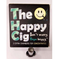 Concentrate Chambers for The Happy Cig. Pack of 3