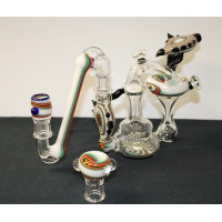 Custom Rig/ Flower bubbler by Huffy