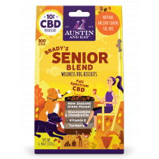 Austin & Kat Senior Blend Cbd Dog biscuits