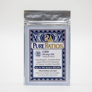 CBD Pure ratios transdermal  patch.