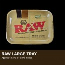 Rolling tray by Raw  (Large/Small, x tra small)