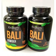 Kratom Kaps Bali in Capsules or Powder. $37.99 + Available in Store Only.
