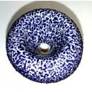 Slide by Sugar Mattys. 14 mm Textured Blue