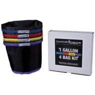 boldtbags  4 Bag Kit of Multi-Purpose Filter Bags