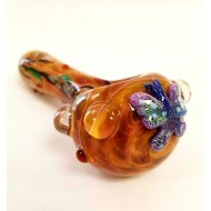 Hand Pipe by Empire Glassworks. Butterfly.
