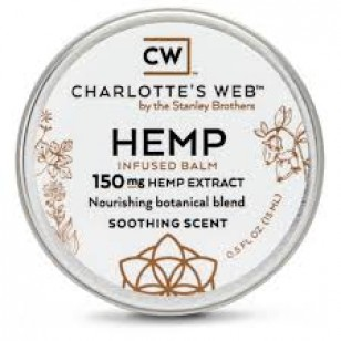 Charlottes Web Infused Balm. 150 mg Extract. (Please call in store only)