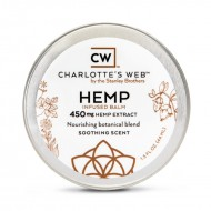 Charlotte's Web  Infused Balm. 450 mgs. By the Stanley Brothers. (Please call in store only)