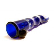 Chillum by Blazing blue glass with built in screen.