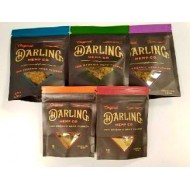 Darling Hemp Co. Organic Hemp Flower. Available in 1G and 3.5G in Assorted Strains.