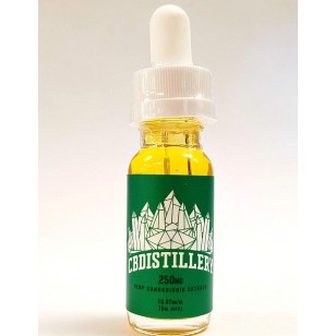CBDISTILLERY CBD Tincture. 250mgs. Available in Store or Call to Order.