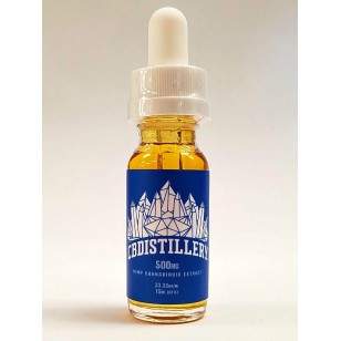 CBDISTILLERY 500mgs Tincture.  Available in Store or Call to Order.