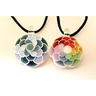 Dot Stack Pendants by Julie.