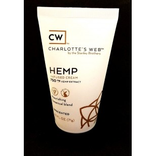 Charlotte's Web Infused Body Cream. 750 mgs. By the Stanley Brothers. (Please Call,not available on the website )