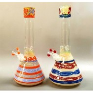 HVY Coil Colored Beaker Water Pipe.
