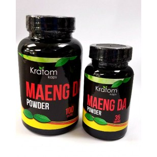 Kratom Kaps Maeng Da Powder.  35g and 100g. Available in Store Only. $17.99 +