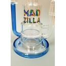 Madzilla Recycler Rigs. Available in Blue or Green.