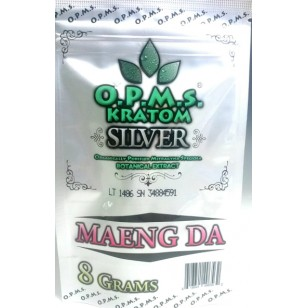 O.P.M.S Kratom Silver. Maeng Da.  (in store only)
