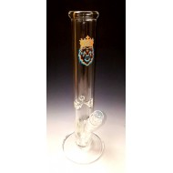 Water Pipe by MGW.  7 mil. Orange and Blue Label. Available in Straight or Beaker Bottom.