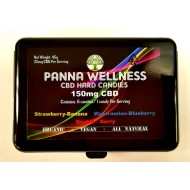 Panna Wellness. CBD Hard Candies. 150mg