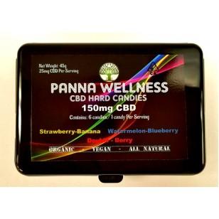 Panna Wellness. CBD Hard Candies. 150mg