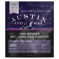 Austin & Kat CBD Biscuits for dogs