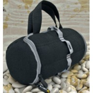 "Duffel Bag by Vatra. Padded. Peaceful Warrior Large. 16"" x 7"""