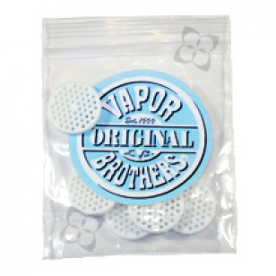 Vapor Brothers Ceramic Screens for EZ Change Whips. 5 in a Pack.